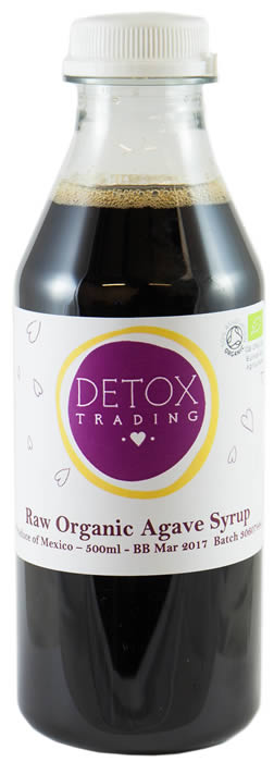 Raw Organic Agave Syrum - from Detox Trading Superfoods