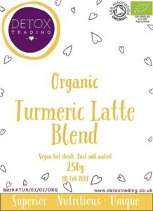 Turmeric Latte Blend from Detox Trading