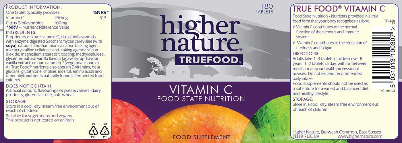 True Food Vitamin C Details